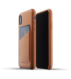 Full Leather Wallet Case for iPhone Xs By mujjo