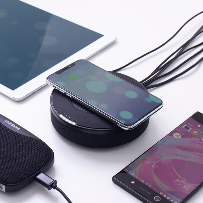 Nomad Wireless Charging Hub By Firebox