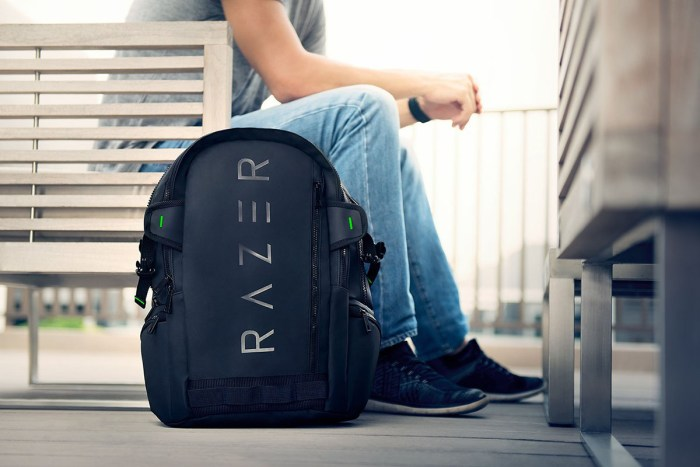 Razer Rogue 15.6″ Backpack Tear and Water-Resistant Exterior