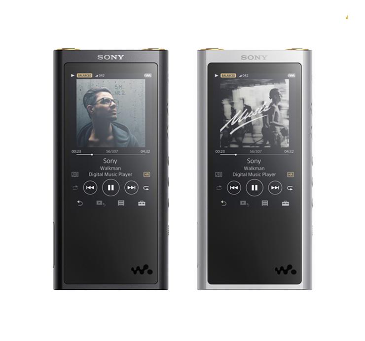 Sony/索尼 NW-ZX300A Hi-Res高解析度MP3音乐播放器,磨砂触屏