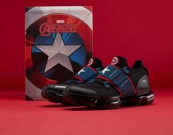 ANTA安踏 SEEED 系列男鞋跑鞋,漫威联名美国队长绿巨人休闲运动鞋