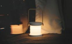 创意充电灯笼,暖光小夜灯,折叠书灯