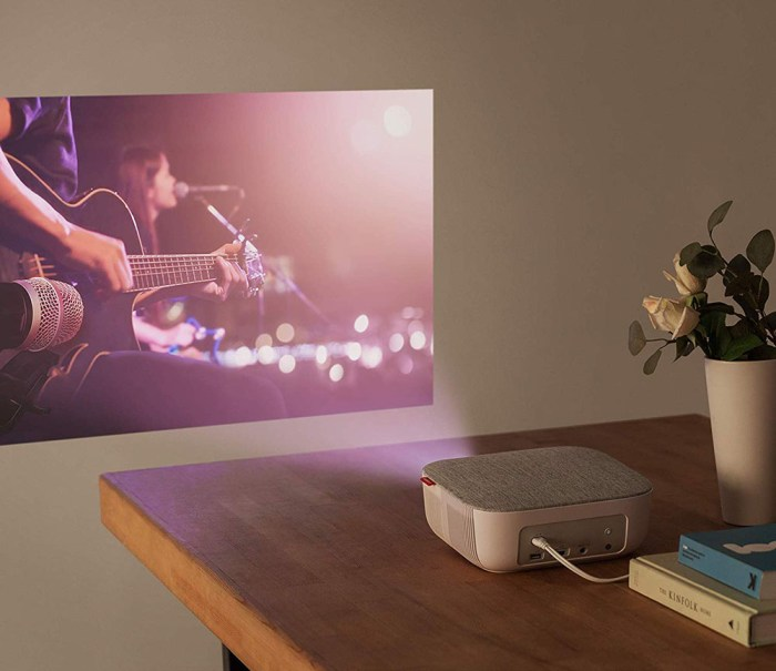 Nebula Prizm Projector by Anker, 100 ANSI lm 480p LCD with 5W Speaker