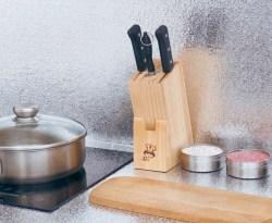 自粘防水厨房防油贴纸,耐高温瓷砖墙贴铝箔纸锡纸