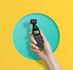 DJI Osmo Pocket compact and intelligent Smart Camera
