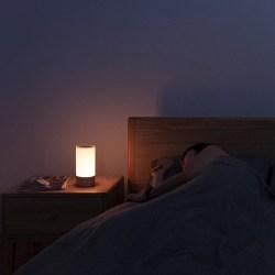 小米 米家 MIJIA 床头灯智能氛围小夜灯,多彩颜色,语音控制