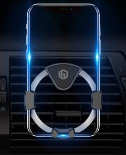 CAR MATE/快美特车载重力感应自动手机支架,出风口通用