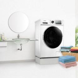 Midea美的 MD80-11WDX 滚筒洗衣机,全自动洗烘一体家用变频,8公斤
