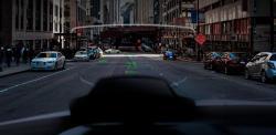 Navion Holographic AR Car navigation System by WayRay