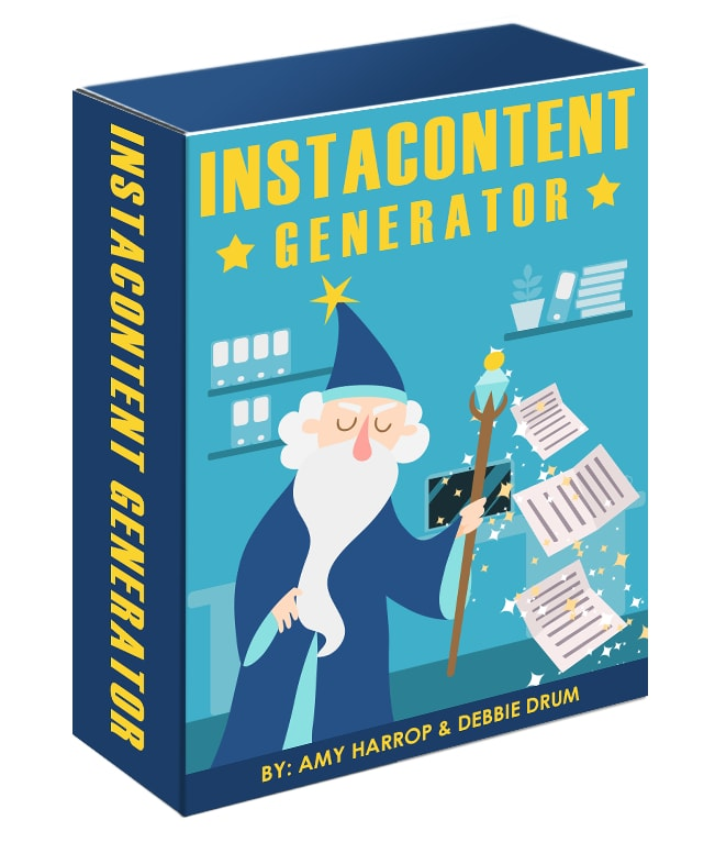 Instacontent Generator Review - The Fastest and Easiest Way
