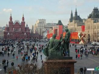 Roter Platz in Moskau / Russland