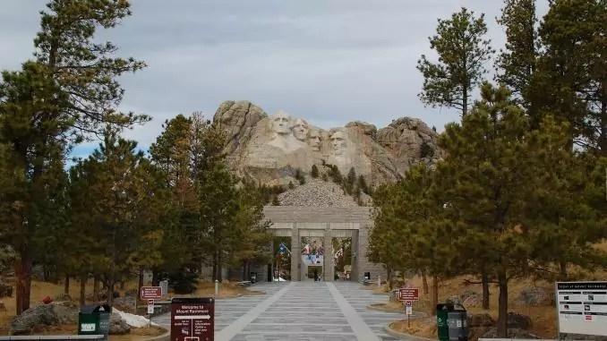 Eingang von Mount Rushmore