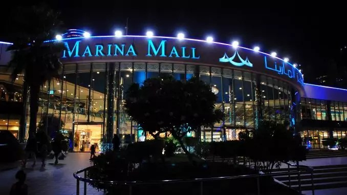 Die Marina Mall im Ramadan