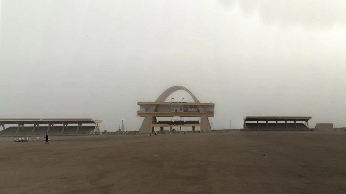 Independence Square in Accra