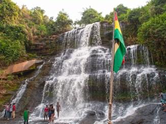 Kintampo Wasserfall in Ghana