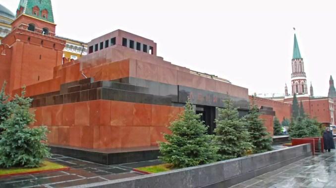 Lenin Mausoleum in Moskau