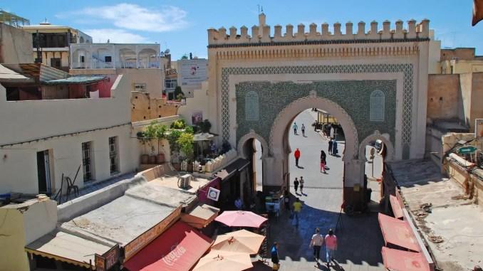 Blaues Tor (Bab Bou Jeloud) Fes