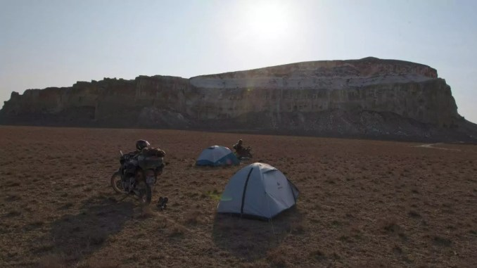 Camping in Mangystau