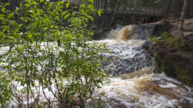 Burabai Wasserfall
