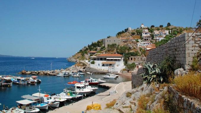 Kamini / Insel Hydra / Griechenland