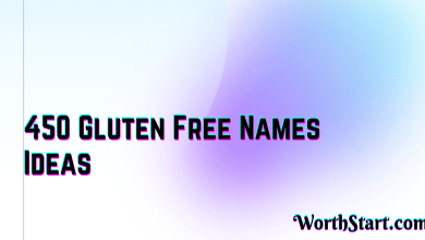 Gluten Free Names Ideas