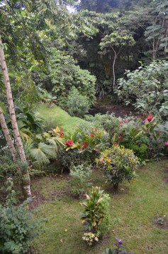 Hotel Monte Real Gardens looking onto the brook