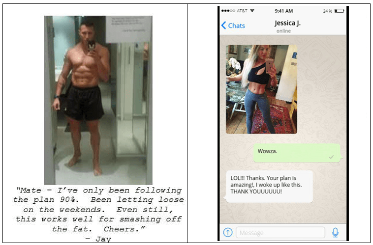 the underground fat loss manual results