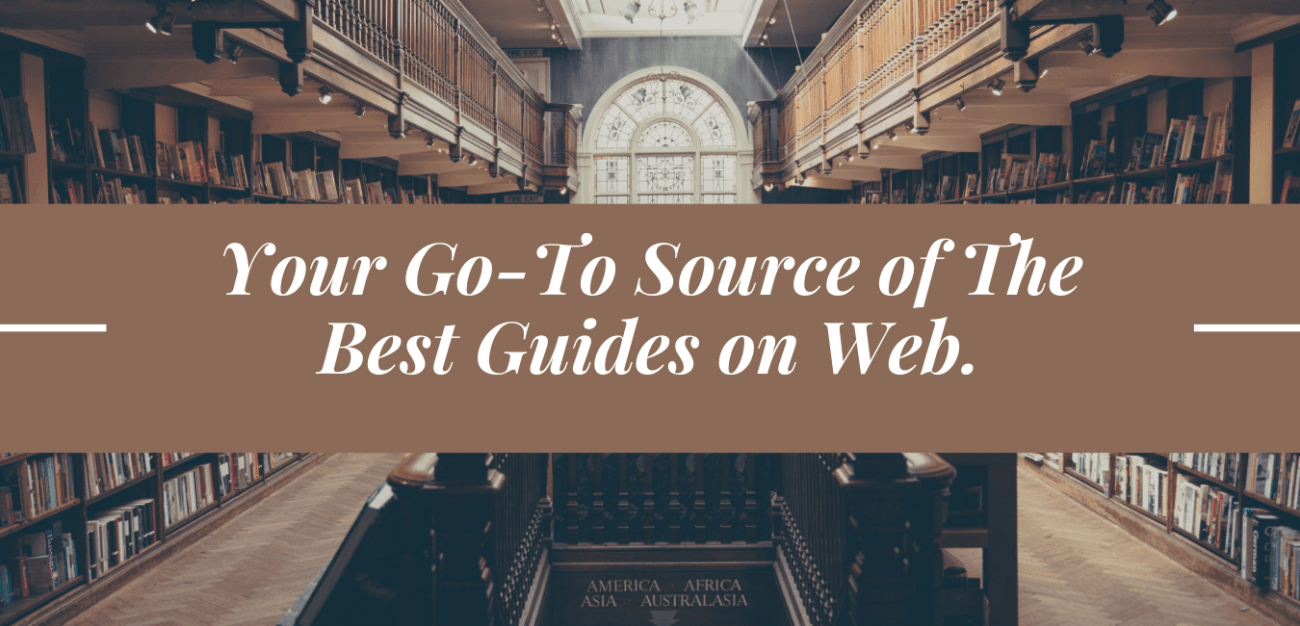 best guides on web