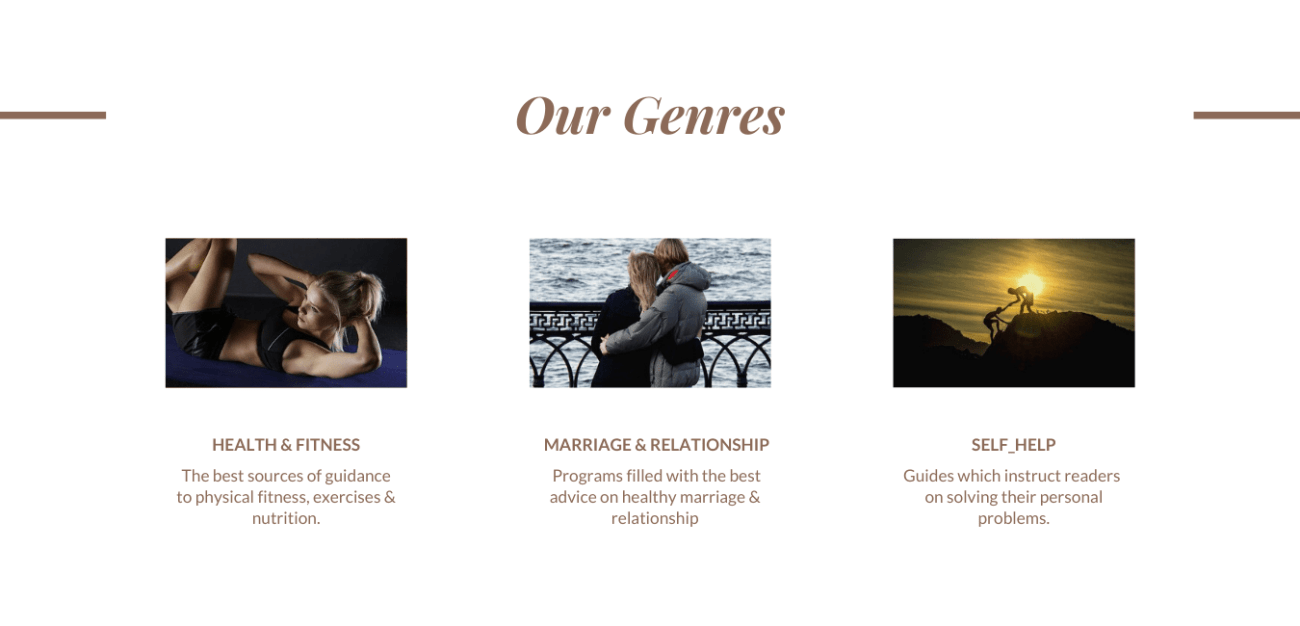 our genres