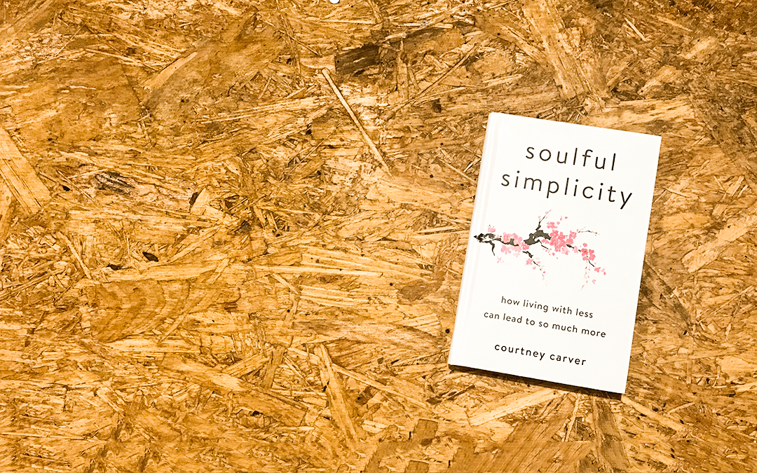 [case study] Soulful Simplicity book launch with Courtney Carver