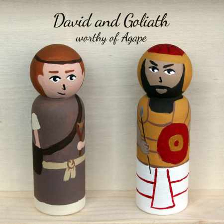 David and Goliath front