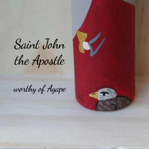 John the Apostle Beloved new eagle