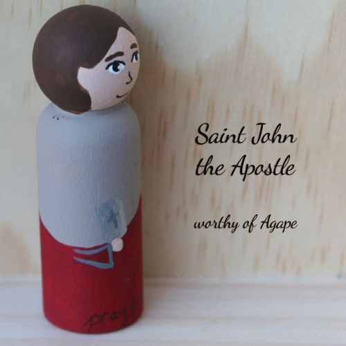 John the Apostle Beloved new side