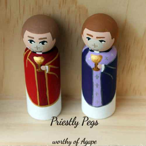Priestly Pegs host face top