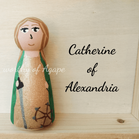 Catherine of Alexandria front
