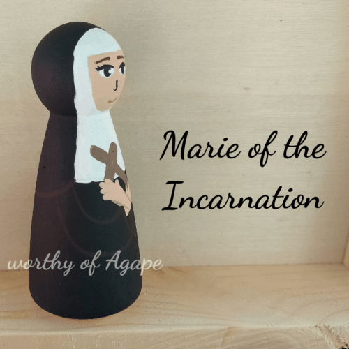 Marie of the Incarnation side