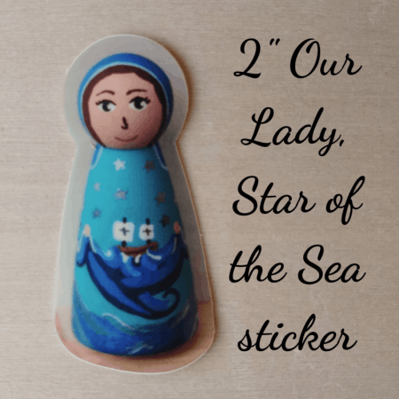 OL Star of the Sea sticker