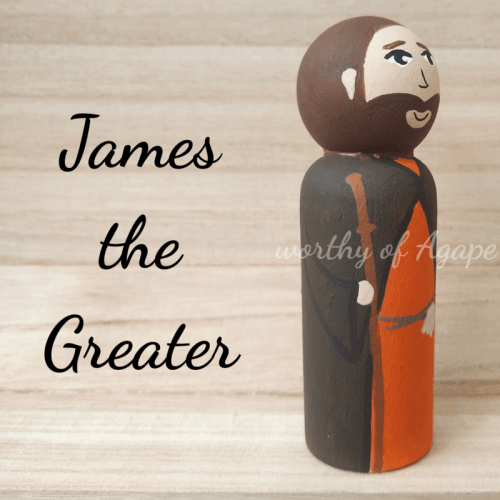 James the Greater staff side