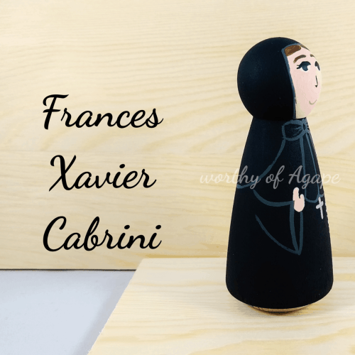 Frances Xavier Cabrini side