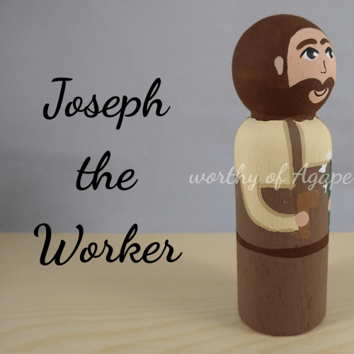 Joseph the Worker side new