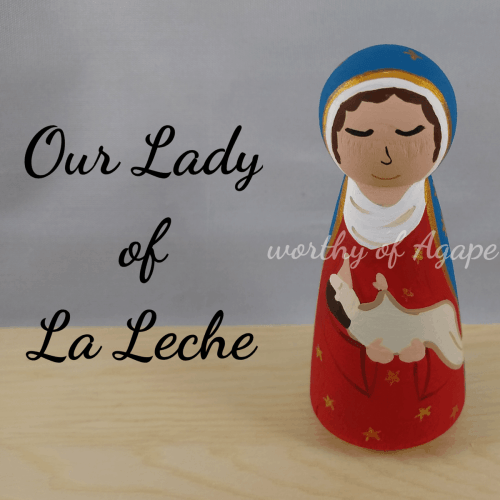 Our Lady of La Leche newest top