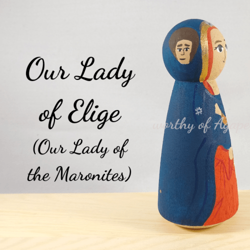 Our lady of elige the Maronites side