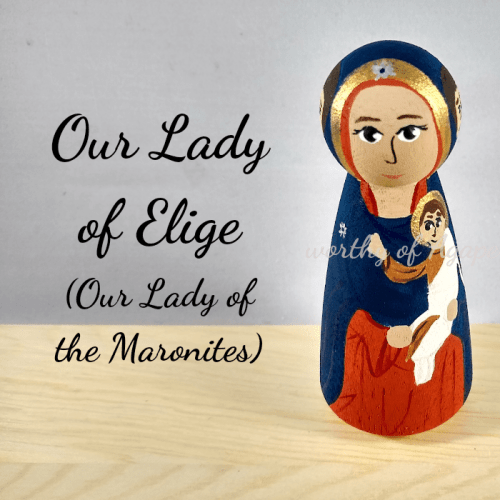 Our lady of elige the Maronites top