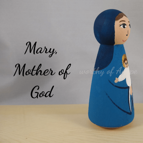 Mary Mother of God side new