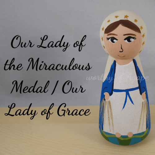Our Lady of the Miraculous Medal Our Lady of Grace top