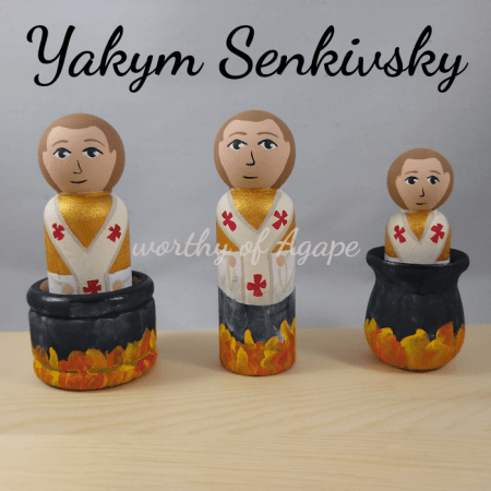 Yakym Senkivsky all 3 in cauldrons
