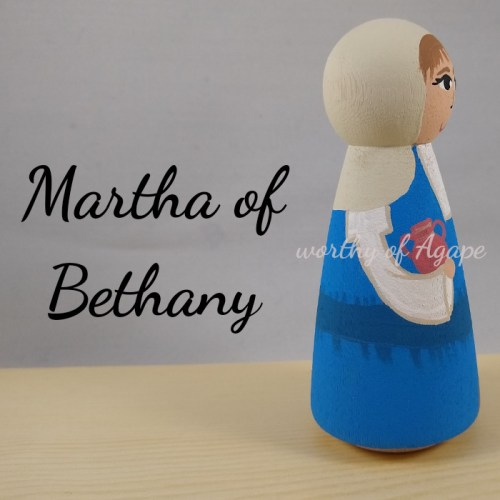 Martha of Bethany jar side new