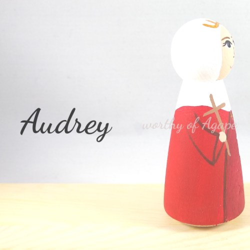 Audrey side