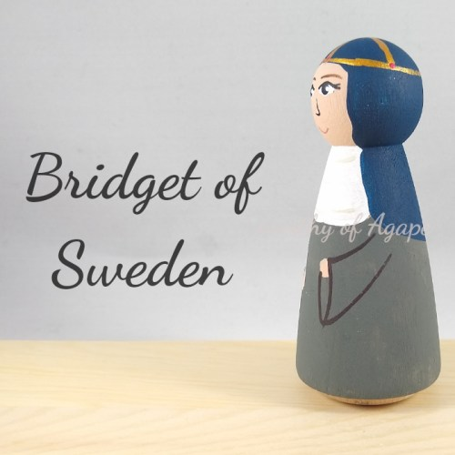 Bridget of Sweden side