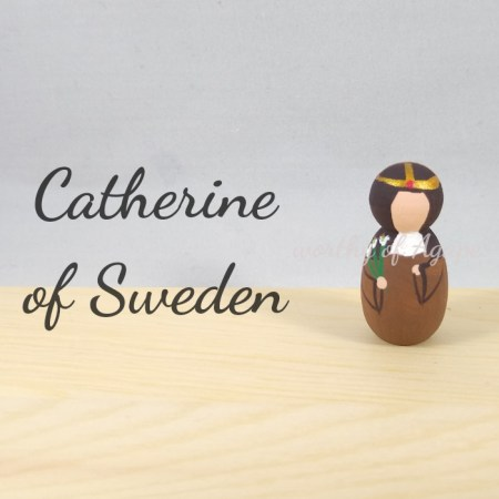 Catherine of Sweden keychain ornament main